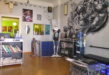 All Style Tattoo Berlin Studio Empfangsbereich waiting area