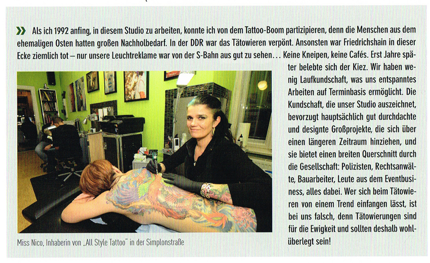 Berliner Kieze 2 miss Nico AllStyle Tattoo Berlin